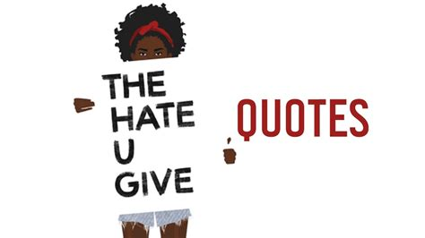470044 the hate u give the hate u give quotes by angie thomas youtube