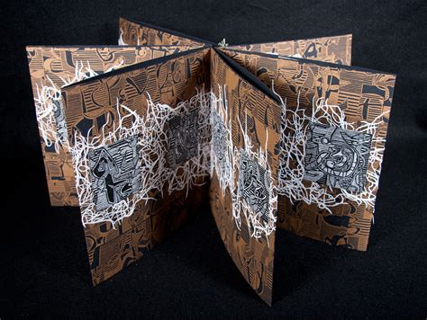 Handmade Artists - artist books merrill shatzman