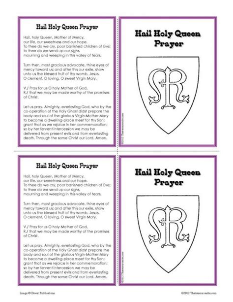 printable version of hail holy queen 283 best faith filled coloring pages and worksheets images