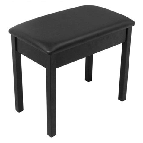 wooden piano bench on stage kb8802 wooden piano bench black