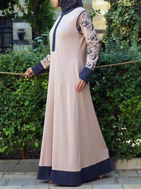 Aira Dress Wd Maxi Dress Dress Muslim printed sleeves maxi dress modest sportswear