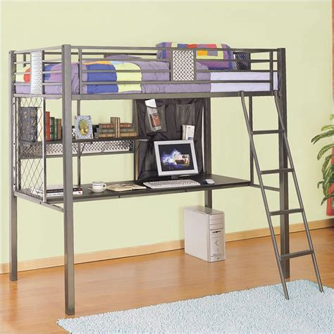 powell bunk beds with desk monster bedroom twin study loft bunk bed powell 500 119
