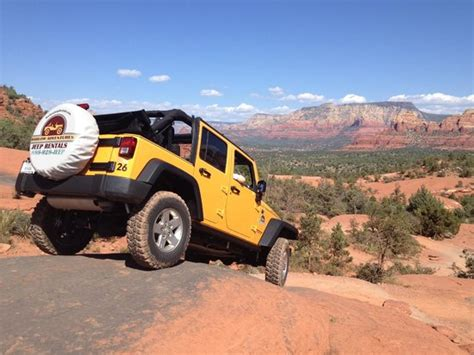Sedona Jeep Rental Barlow Adventures Sedona Images