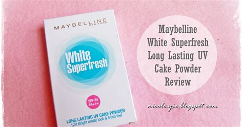 Maybelline White Superfresh Cake Powder Refill maybelline white superfresh lasting uv cake