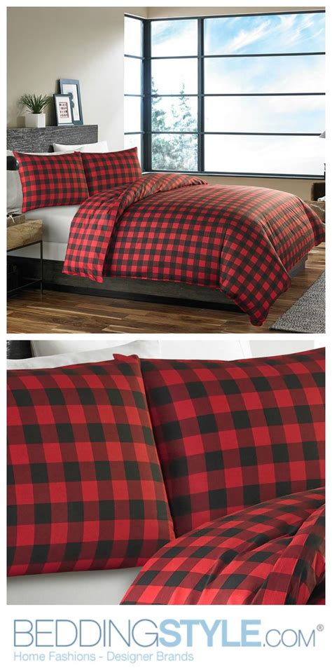eddie bauer bedding eddie bauer mountain plaid scarlet comforter duvet set