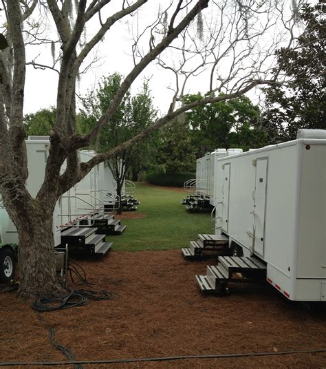 Comfort House Inc by Executive Restroom Trailers Comfort House Inc Dumpster