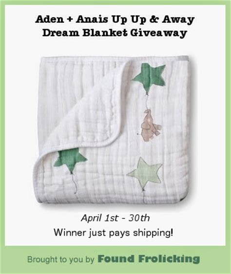Aden And Anais Giveaway - aden anais quot up up away quot dream blanket giveaway found frolicking