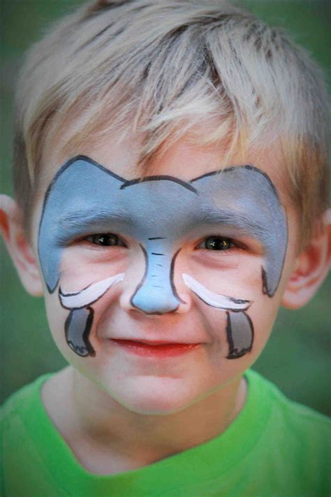 Fasching Elefant Schminken by 50 Fantasievolle Kinderschminken Motive F 252 R Jungen