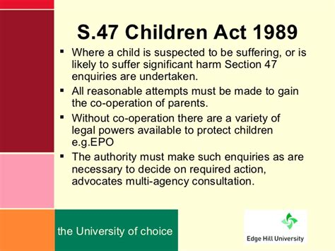 section 17 of the children act 1989 every child doesn t have rights other children s rights