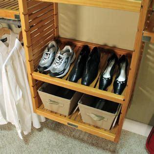 louis home 16 quot deluxe closet system honey maple