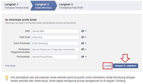 ingin membuat akun facebook cara membuat akun facebook dengan mudah cangkirpena
