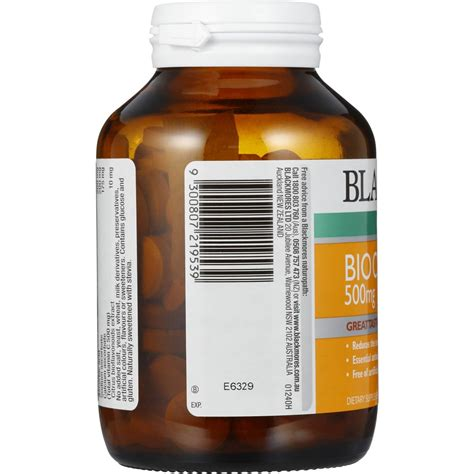 Promo Blackmores Bio C 500mg Cold Relief Vitamin C Bpom Kalbe 60 Ta Blackmores Cold Relief Bio C Chewable 500mg 125pk Woolworths