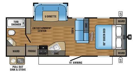 rv floor plan 2016 eagle luxury travel trailer floorplans prices jayco
