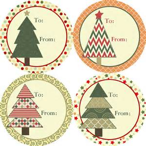 vintage christmas gift tag stickers red and green polka