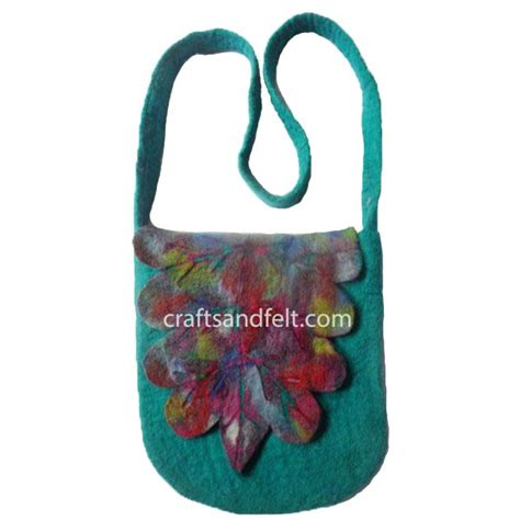 Handmade Felt Bags - handmade felt bag wholesale from nepal