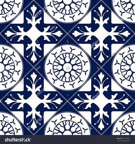 design elements tile vector moroccan tile seamless pattern design stock vector