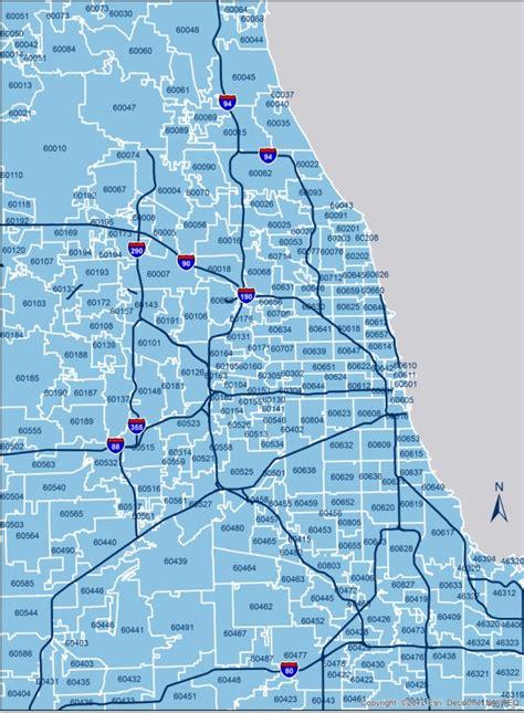 chicago map of zip codes chicago zip codes chicago neighborhood zip codes
