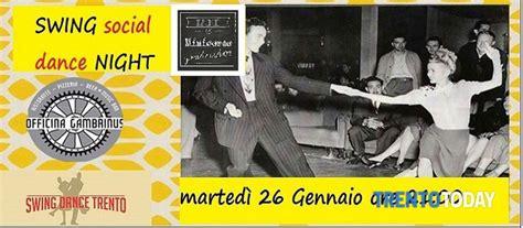 swing social dance swing social dance night al gambrinus eventi a trento