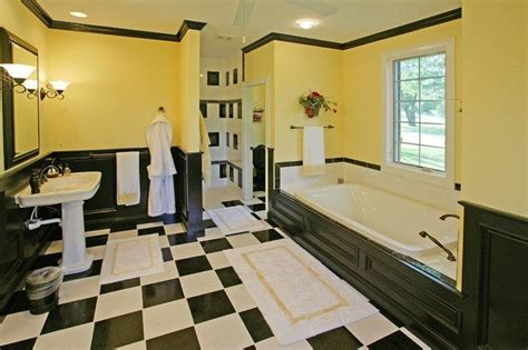 20 black and yellow bathroom design ideas with pictures