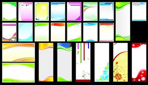 book layout design in coreldraw 时尚简约展板背景矢量素材 矢量背景素材 矢量素材 素彩网