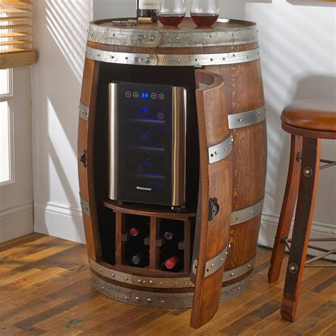 dining room unique design  whiskey barrel furniture