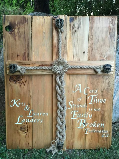 Unique Bible Verses Wedding Ceremony by Personalized Rustic Wedding Alternative Unity Ceremony