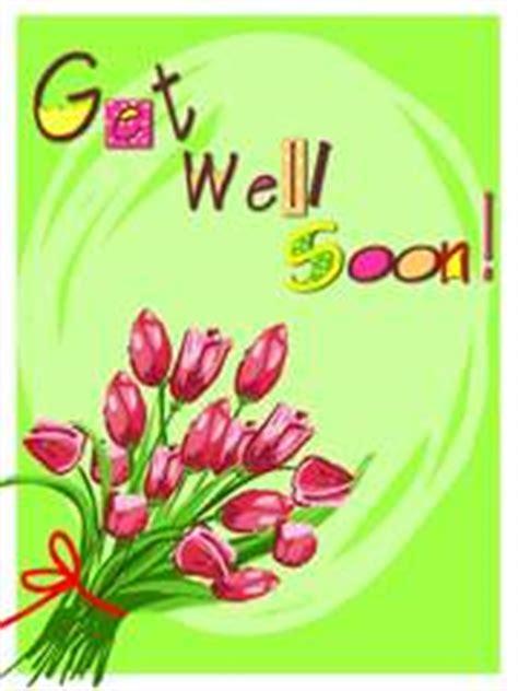 get well soon greeting cards template 画像 病気入院 風邪 怪我の お見舞い はがきカードの無料テンプレート get well soon