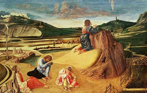 The Agony In The Garden by The Agony In The Garden C 1465 Bellini As Print Or Painted