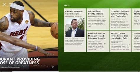 bing sports bing sports app in windows 8