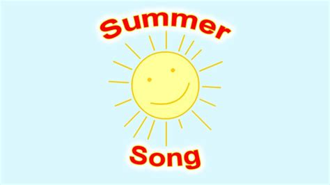 new year song summer kid summer song for children simple song for learning