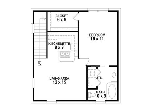 24x24 floor plans 24x24 garage apartment plans home design