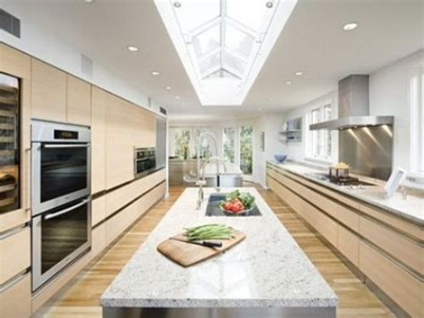 galley kitchen with island layout galley kitchen with island layout kitchens pinterest
