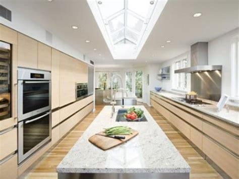 galley kitchen design with island galley kitchen with island layout kitchens pinterest