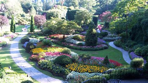 Quot Butchart Gardens Is The Name Of A Flower Garden That Is Garden Flowers Vancouver