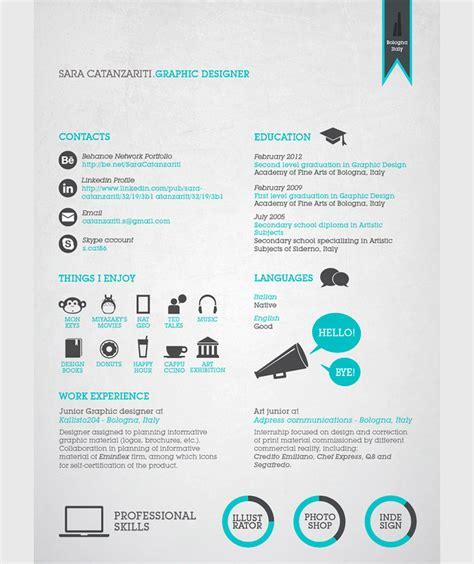 Plantillas De Curriculum Vitae Diseño Grafico 50 Ejemplos De Curr 237 Culums Originales