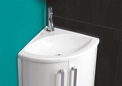 Kithcen Sinks by Hib Solo Wave Corner Washbasin 625 X 400mm 8880