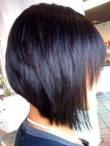 razor cut a line bob razor line bob haircut with a hint of dark purple i