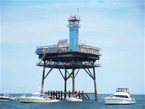 Chesapeake Light Tower by Chesapeake Light Virginia At Thelighthousehunters