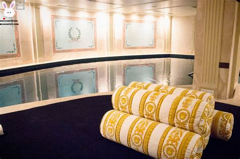 Versace Receiving Treatment by Spa Palazzo Versace Haute Grandeur
