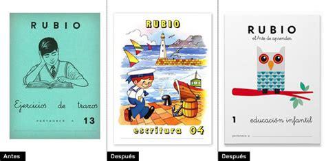 cuadernos rubio educacion infantil 8485109406 cuadernos rubio renueva su universo de marca brandemia