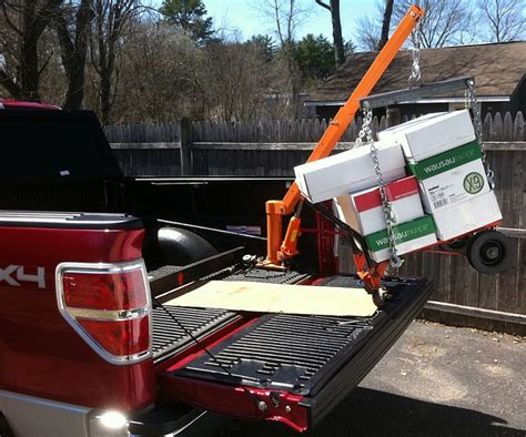 truck bed hoist pickup bed crane page 2 ford f150 forum community of