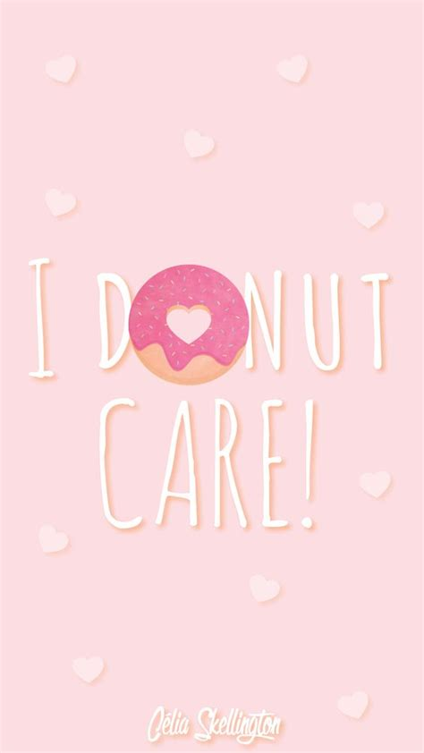 pastel simple june iphone wallpaper home screen panpins pink girl pastel donut love iphone home wallpaper panpins