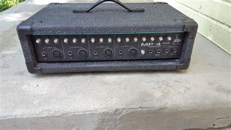 Power Mixer Black Spider 8 Channel peavey mp4 plus 4 channel power mixer black reverb