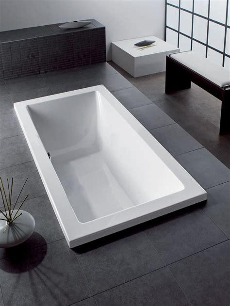 Mizu Bathrooms by Hoesch Scelta 1800 Rectangle Inset Bath Bathrooms