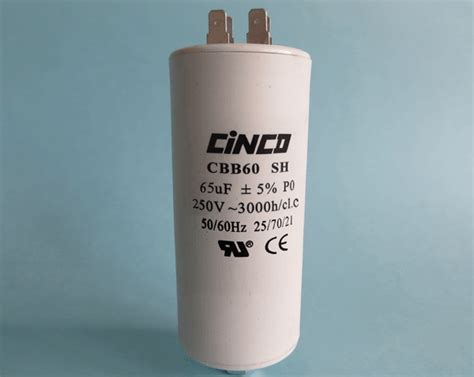 65uf 250vac cbb60a motor run capacitors 4pins cinco capacitor china ac capacitors factory