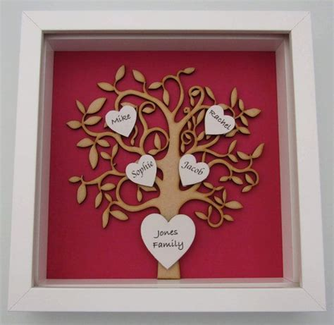 Handmade Family Tree Ideas - 1000 ideas about last name crafts on sand