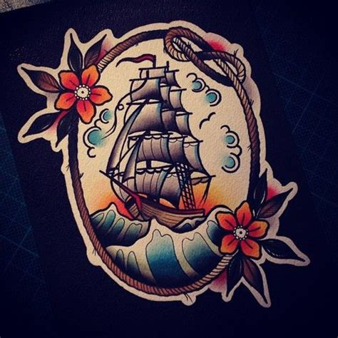 traditional pirate ship tattoo 25 best ideas about pirate ship tattoos on