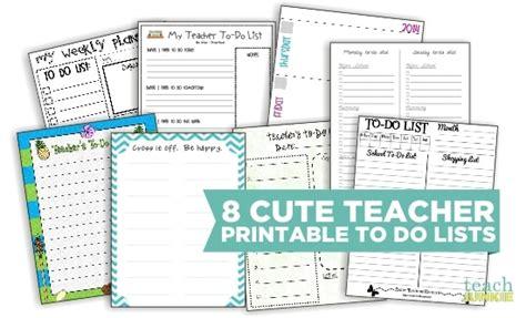 printable to do list for teachers 8 cute teacher printable to do lists teach junkie
