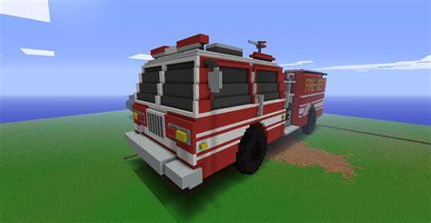 minecraft fire truck american lafrance fire engine minecraft project