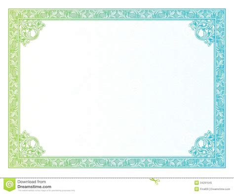 certificate border templates microsoft word image